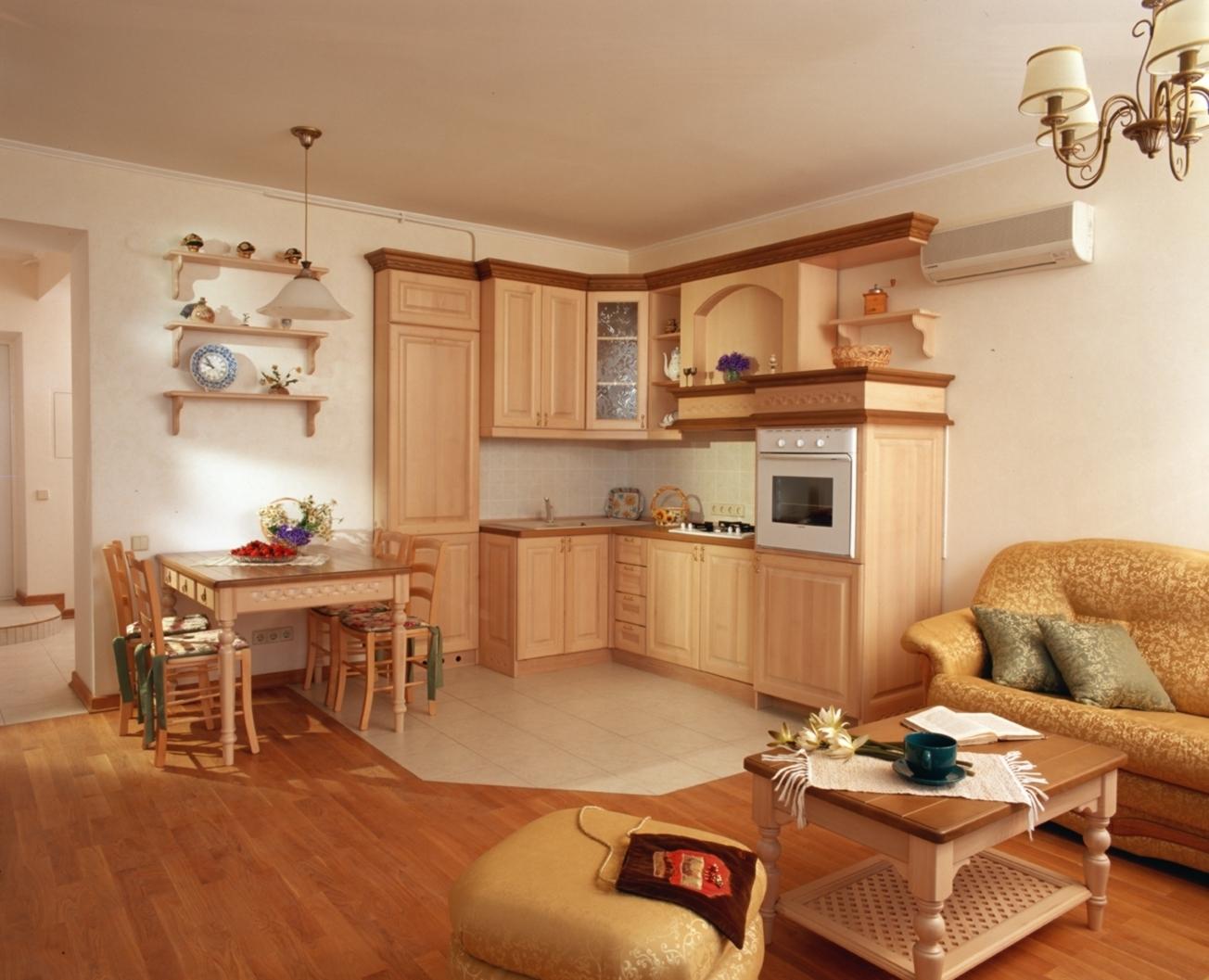 Квартира в стиле кантри фото