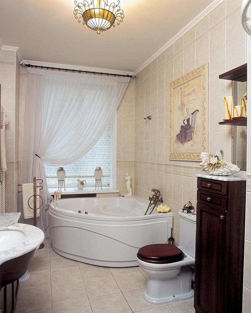 Классический дизайн квартир ванная комната