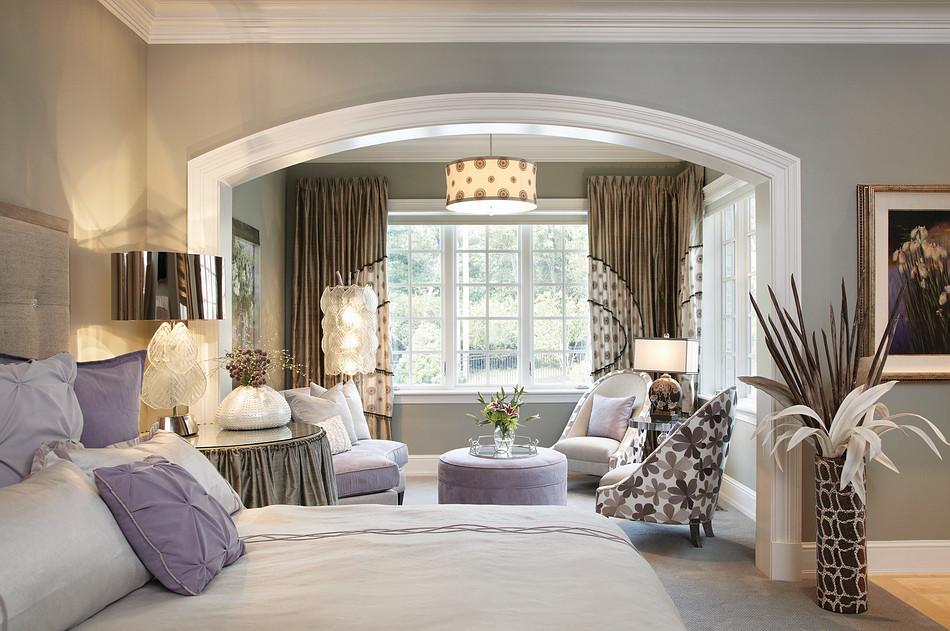 Дизайн спален с зоной отдыха