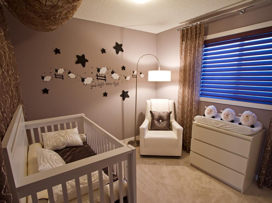 Дизайн комнат для новорождённых